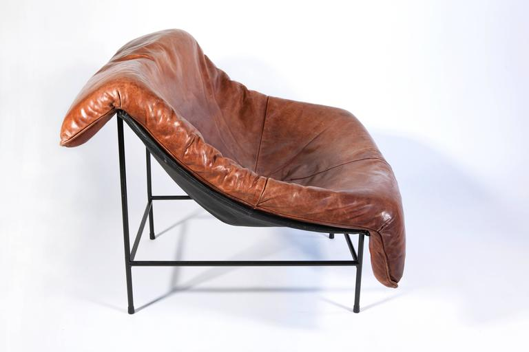 'Butterfly' Lounge Chair by Gerard van den Berg for Montis, circa 1980 4