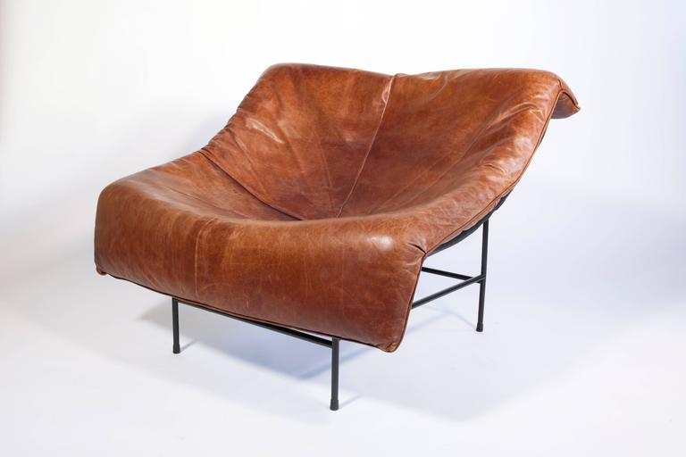 'Butterfly' Lounge Chair by Gerard van den Berg for Montis, circa 1980 9