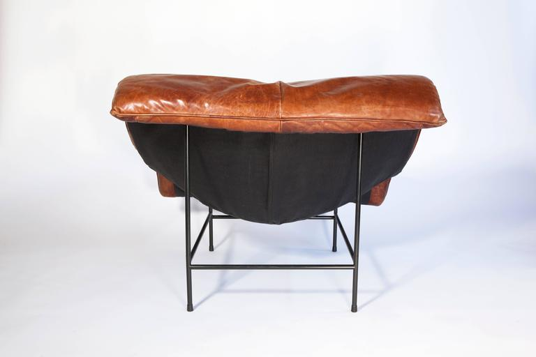Late 20th Century 'Butterfly' Lounge Chair by Gerard van den Berg for Montis, circa 1980 For Sale