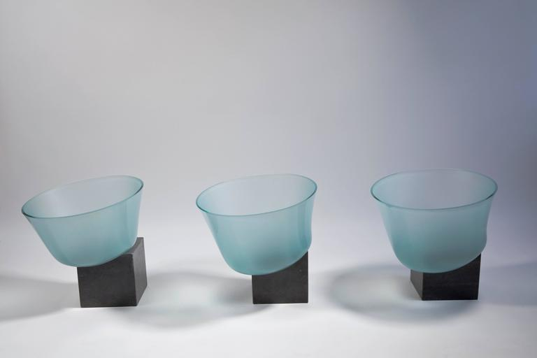 Dutch Iconic Art Glass Installation by Bert Frijns, 1992 For Sale