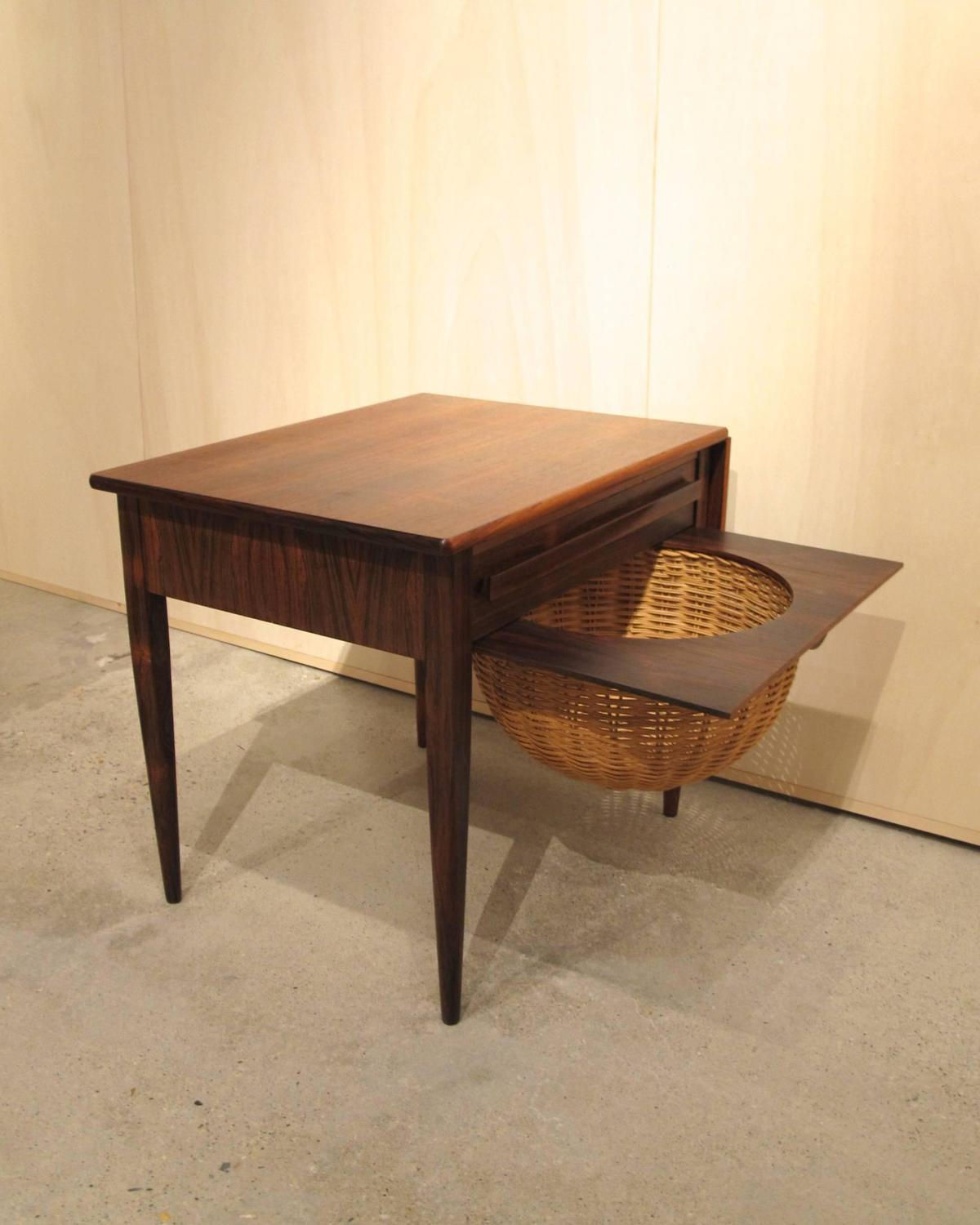 Danish 1960s Sewing Table by Johannes Andersen for CFC