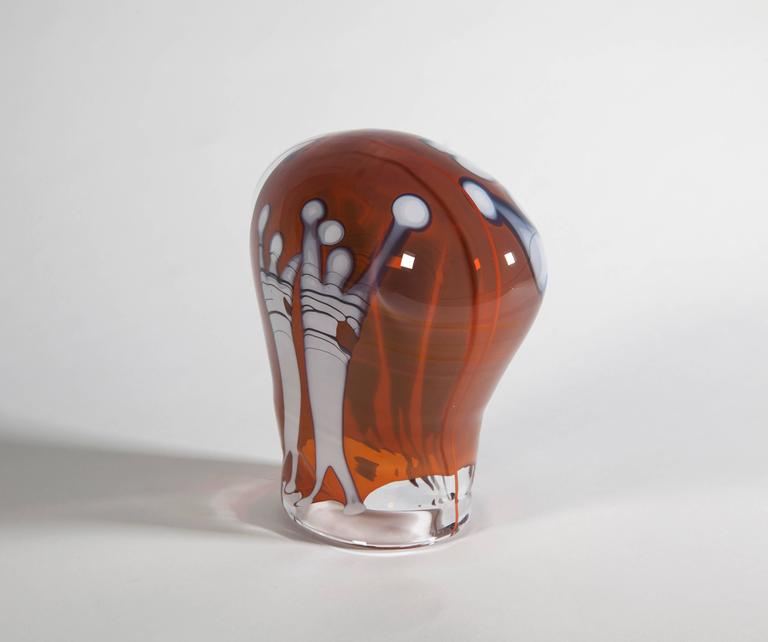Unique Studio Glass Object by Sybren Valkema, Executed at Studio Wilke Adolfsson 5
