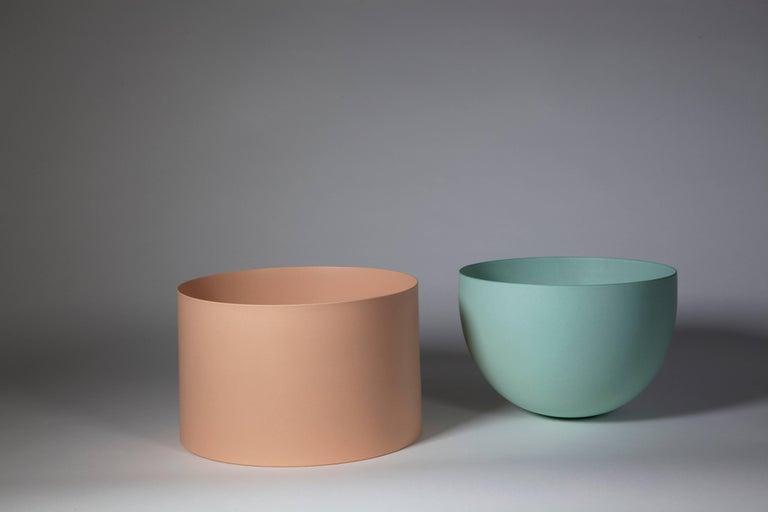 Light Green Bowl, Stoneware with Terra Sigilata Glaze, One-Off by Geert Lap 6