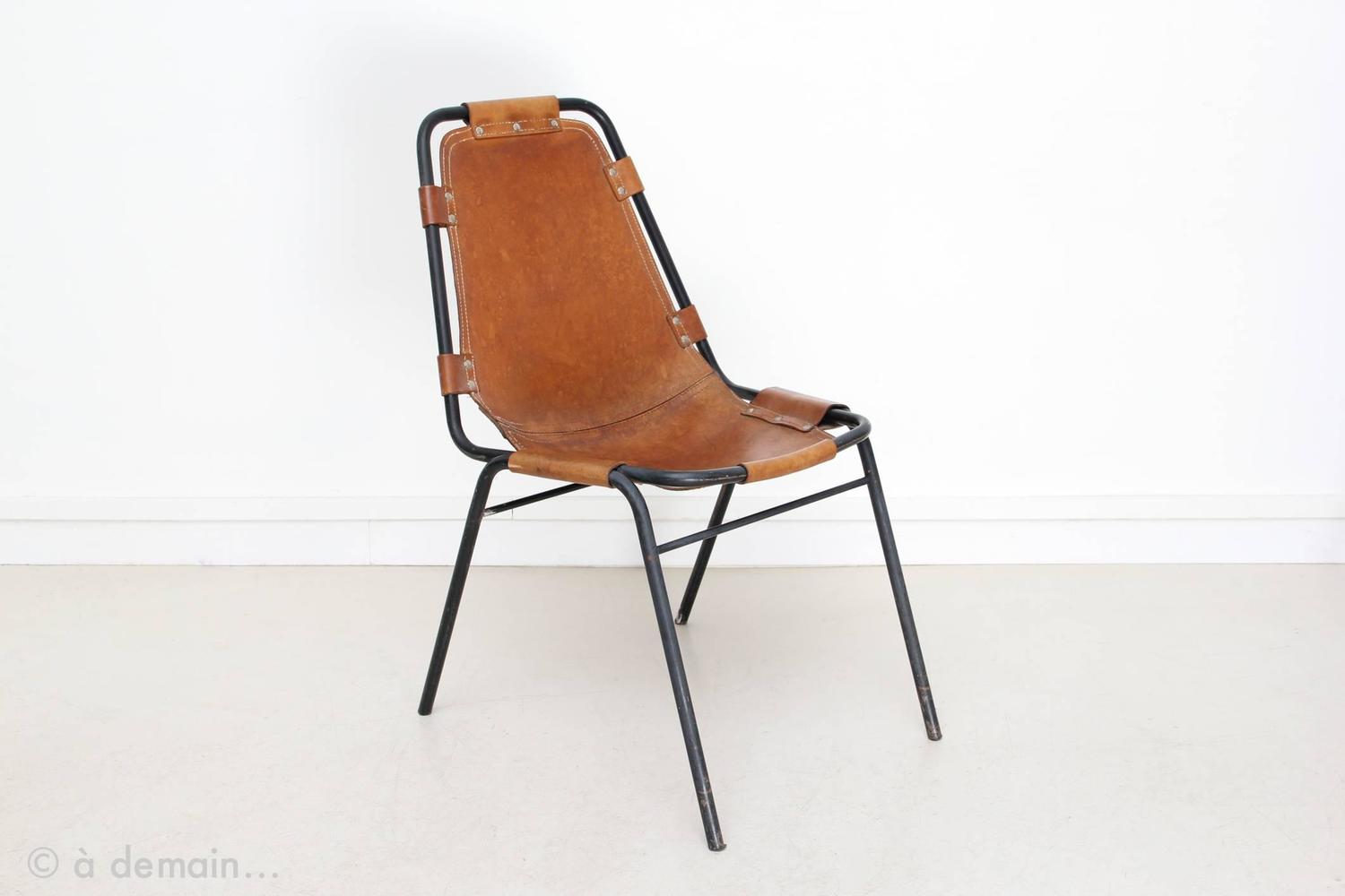 1960s set of four chairs chosen by charlotte perriand at 1stdibs. Black Bedroom Furniture Sets. Home Design Ideas