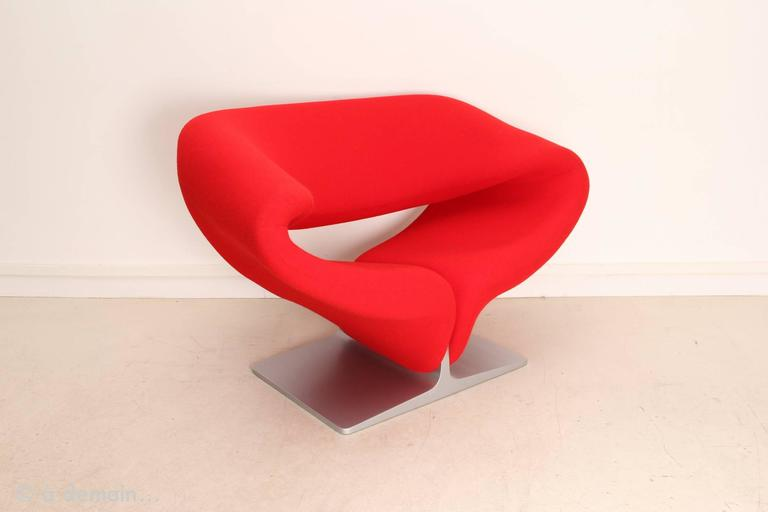 Created In 1966, This Lounge Chair Takes The Surprising And Innovative Form  Of A Folded