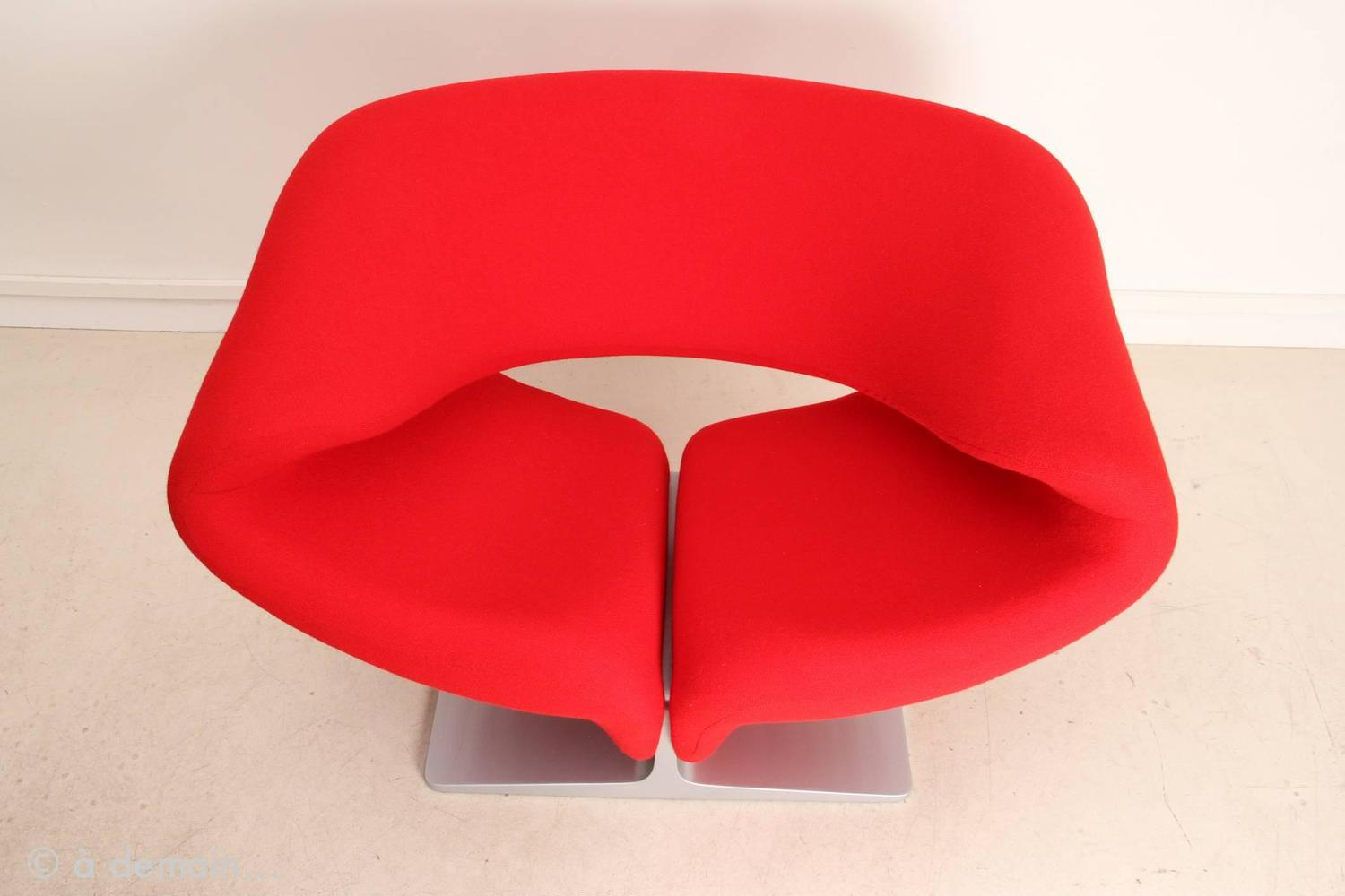 Ribbon Chair Designed By Pierre Paulin, Edited By Artifort In 1966 At  1stdibs