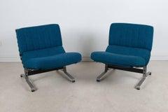 Pair of Easy Chairs by Etienne Fermigier