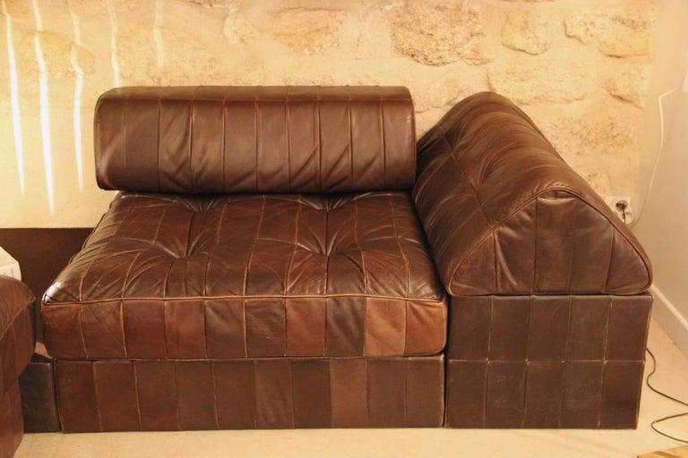 Modular Sofa Model DS 88 by De Sede In Excellent Condition For Sale In Paris, FR