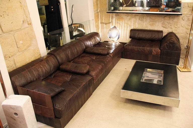 Mid-Century Modern Modular Sofa Model DS 88 by De Sede For Sale