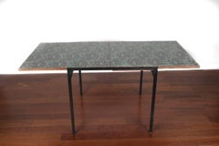 Extendng Table by Pierre Guariche Tabletop designed by Vieira Da Silva