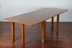 Console extensible in a Dining Table by Alvaro Siza for Boa Nova Tea House