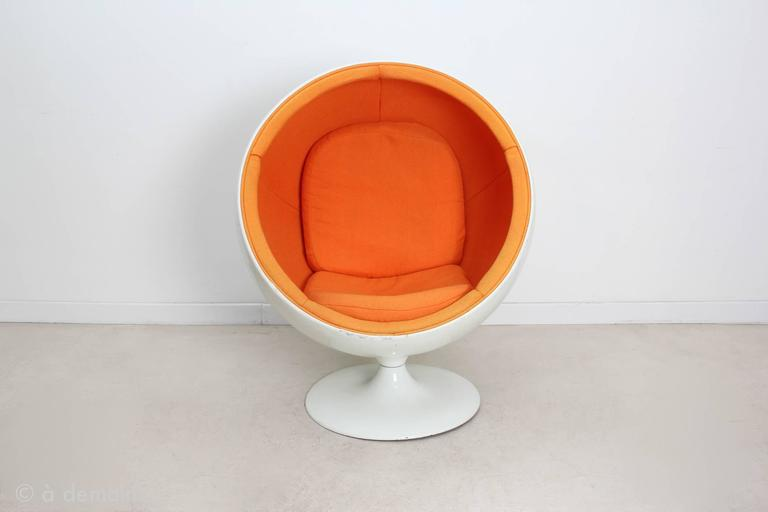 Rare Kids Version Of The Ball Chair Designed By Eero Aarnio. The Finnish  Designer Eero