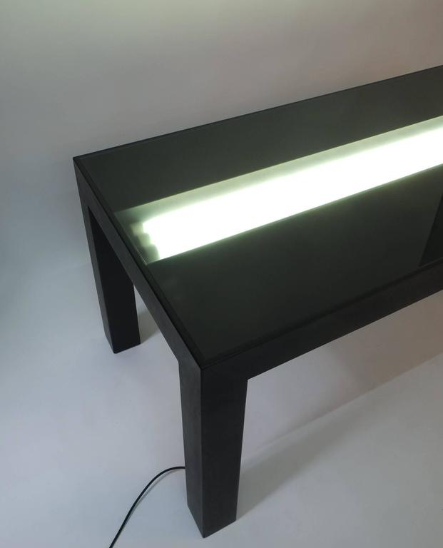 Illuminated Dining Table by Johanna Grawunder for Post-Design In Good Condition For Sale In Vienna, AT