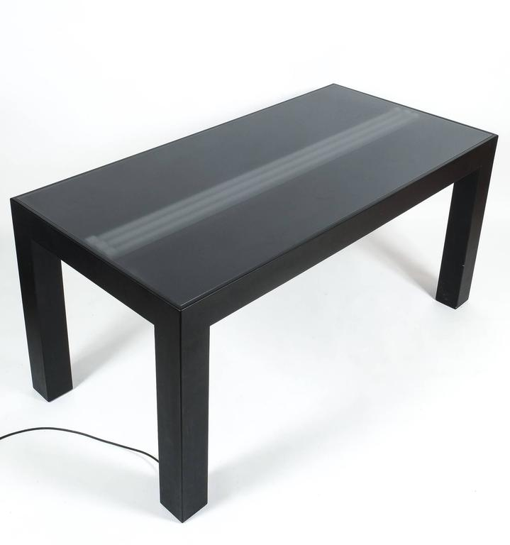 Contemporary Illuminated Dining Table by Johanna Grawunder for Post-Design For Sale