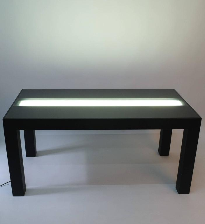 Illuminated Dining Table by Johanna Grawunder for Post-Design For Sale 1