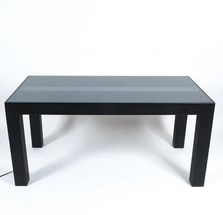 Illuminated Dining Table by Johanna Grawunder for Post-Design For Sale 2