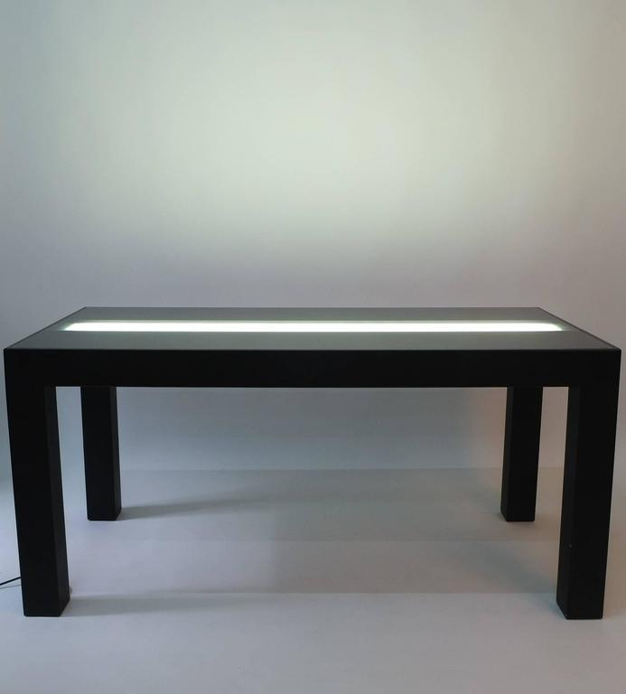 Post-Modern Illuminated Dining Table by Johanna Grawunder for Post-Design For Sale