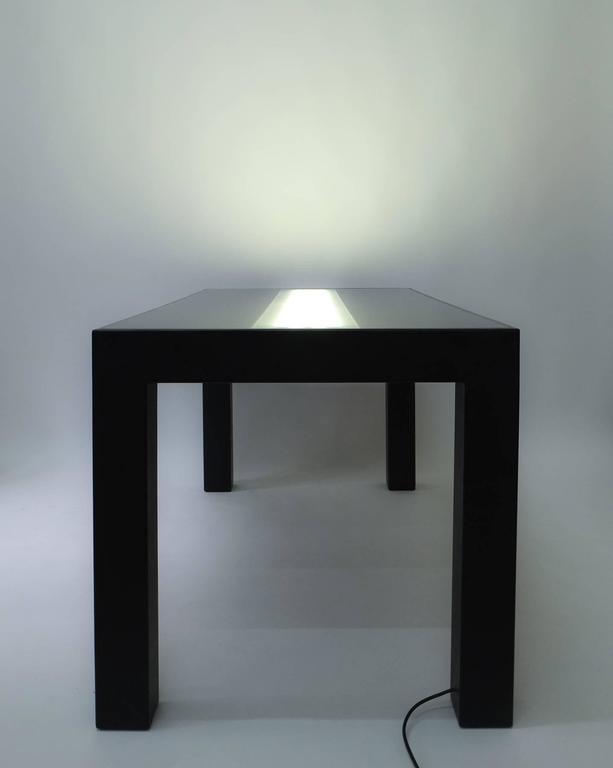 Italian Illuminated Dining Table by Johanna Grawunder for Post-Design For Sale