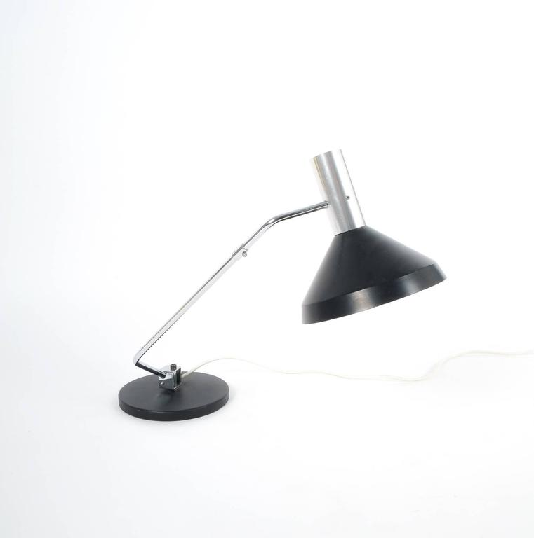 Mid-20th Century Rico and Rosemary Baltensweiler Articulated Swiss Table Lamp, 1960 For Sale