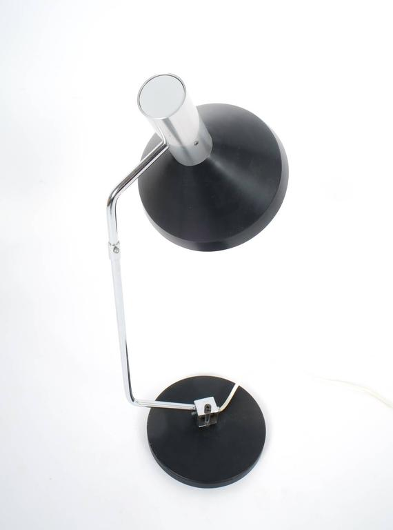 Mid-Century Modern Rico and Rosemary Baltensweiler Articulated Swiss Table Lamp, 1960 For Sale