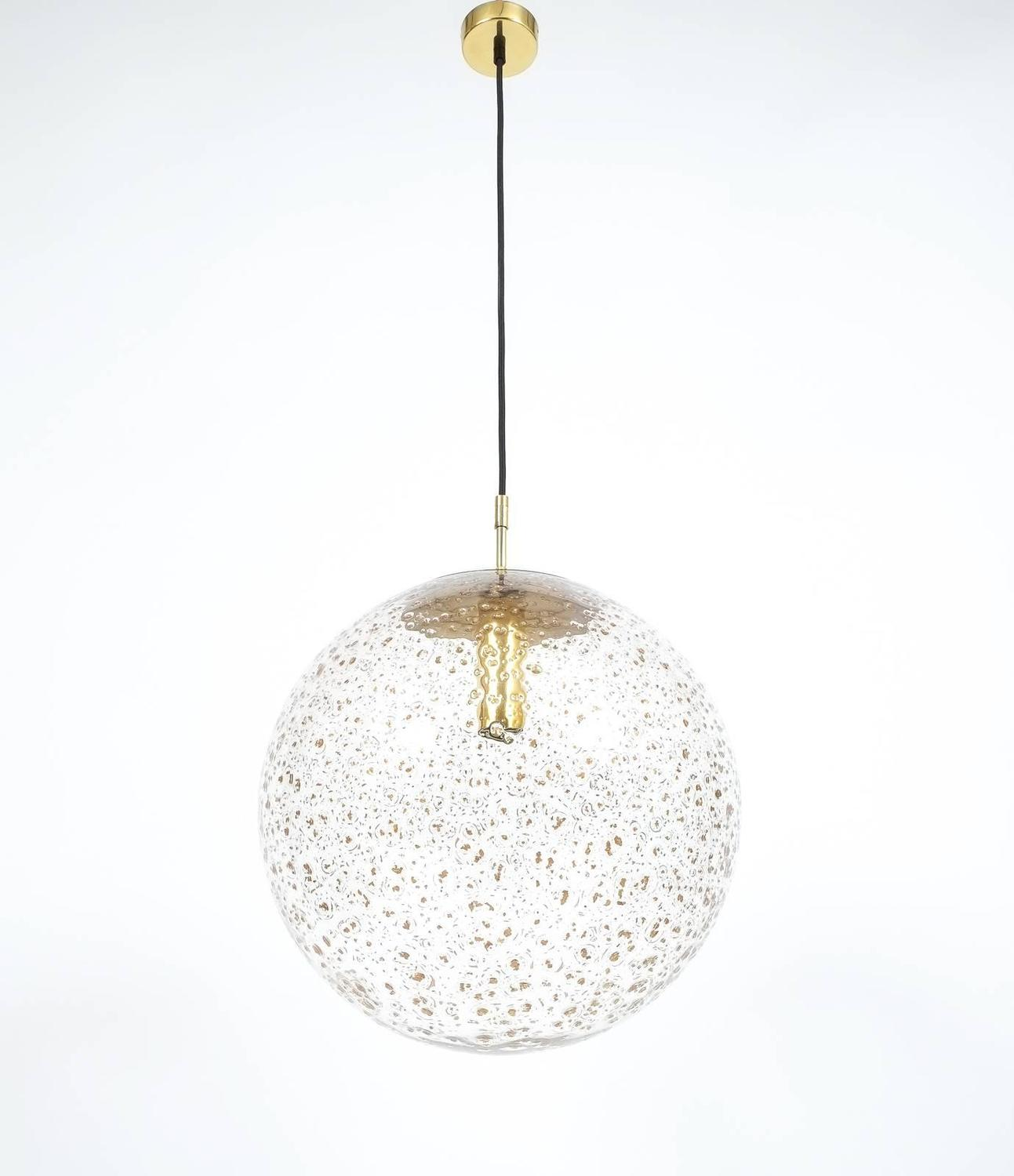large limburg glass ball pendant for sale at 1stdibs