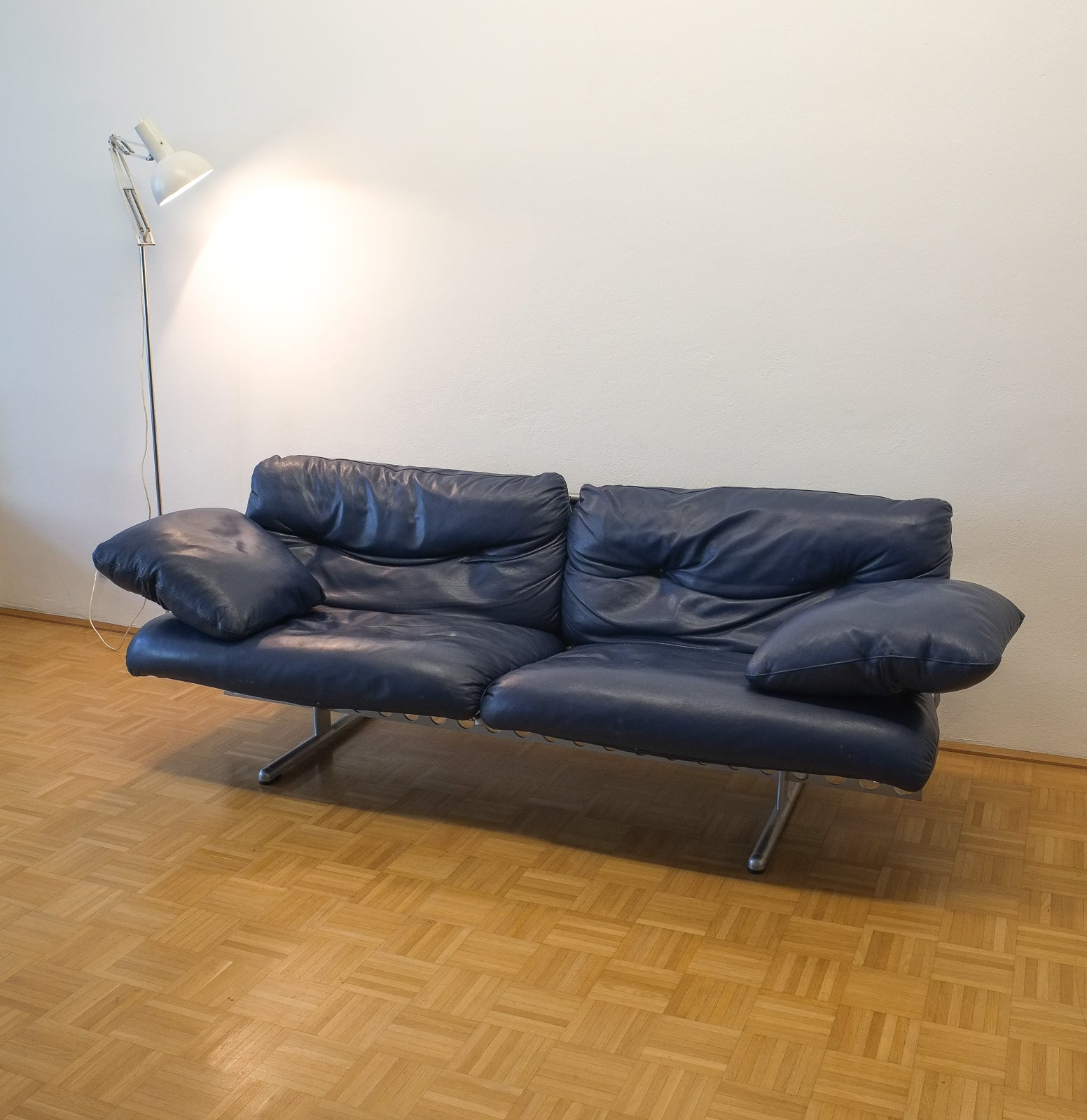 Pierluigi Cerri Ouverture Leather Sofa for Poltrona Frau, Italy ...