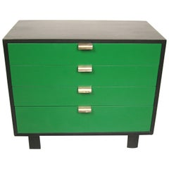 George Nelson for Herman Miller Green Dresser Chest Midcentury