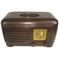 Lone Ranger Vintage 1930s Pilot Bakelite Radio