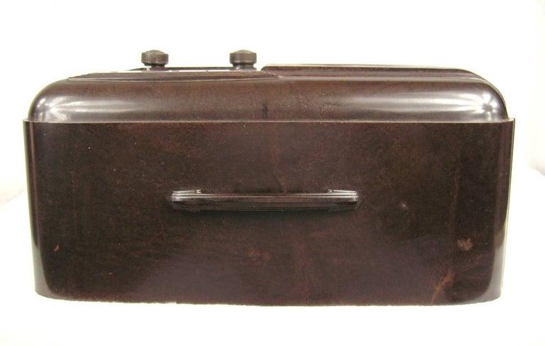 Mid-20th Century Lone Ranger Vintage 1930s Pilot Bakelite Radio For Sale