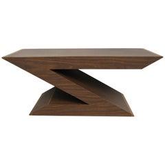 Mid-Century Modern Z-Coffee Table