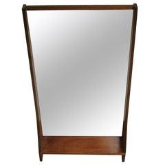 Mid-Century Modern Teak Vanity Mirror