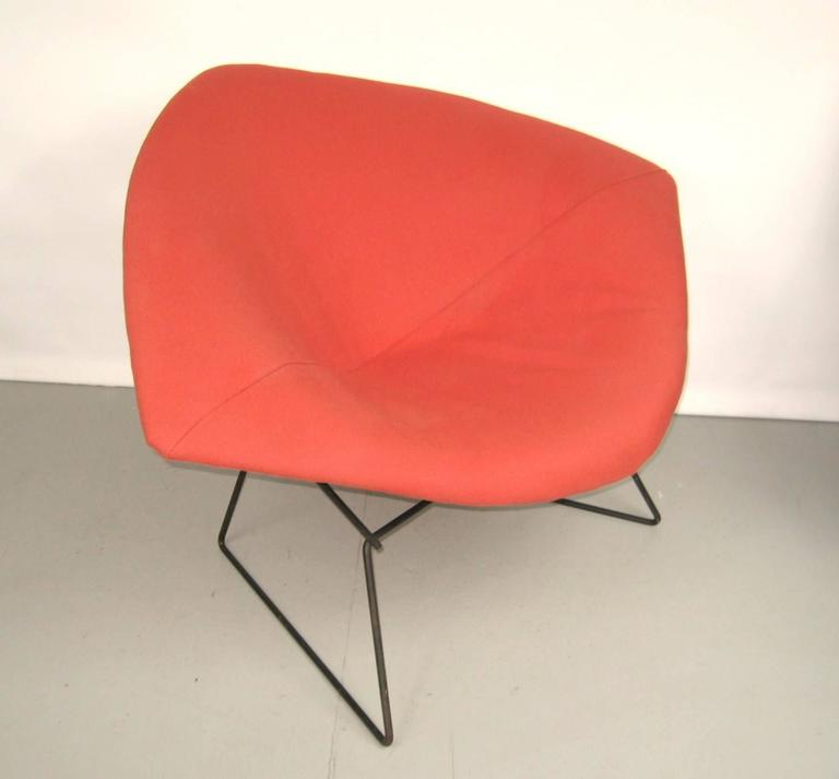 harry bertoia for knoll red diamond chair 1960s for sale at 1stdibs. Black Bedroom Furniture Sets. Home Design Ideas