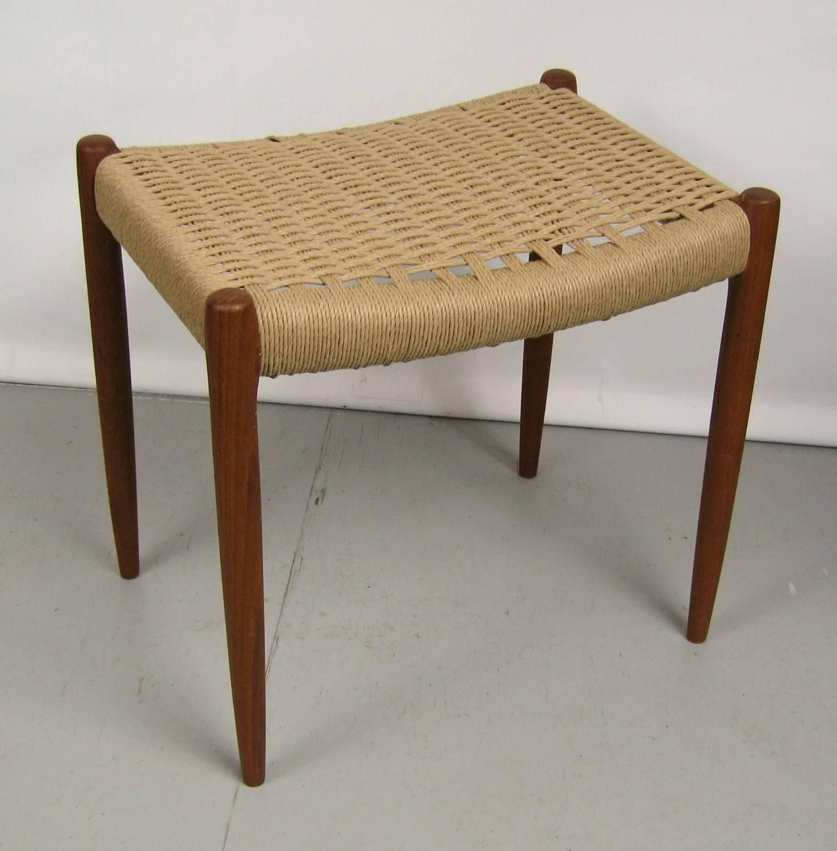 Danish Modern Teak J L Mollers Mobelfabrik Chair And Ottoman For Sale At 1st