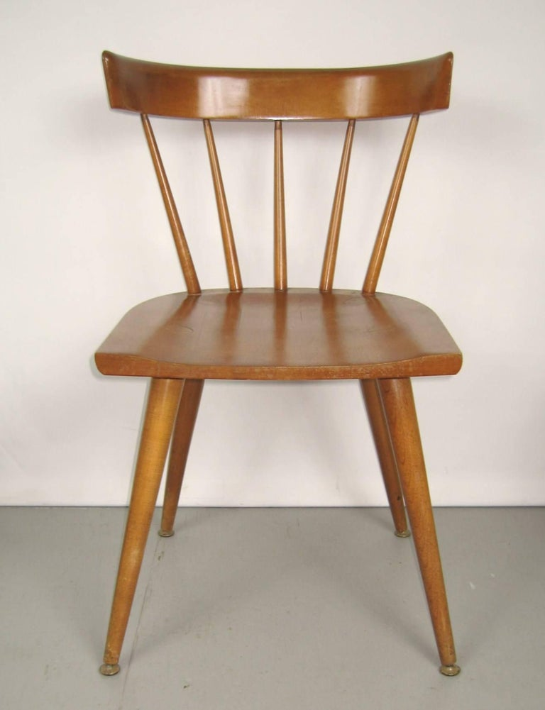 Mid-Century Modern Paul McCobb Dining Chairs for Planner Group, Set of Four For Sale