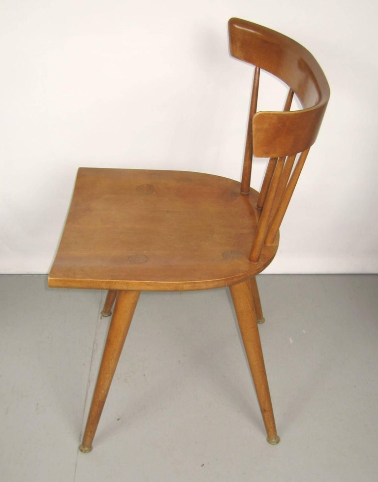 Paul McCobb Dining Chairs for Planner Group, Set of Four In Excellent Condition For Sale In Wallkill, NY