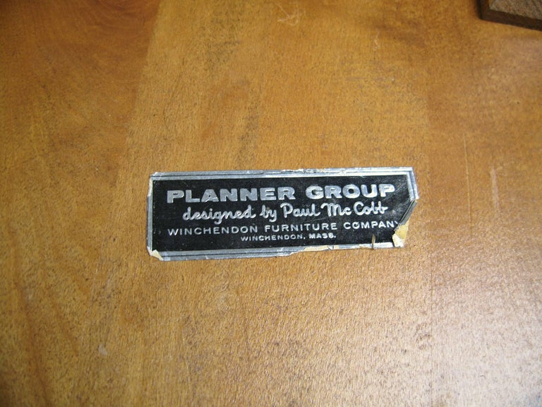 Maple Paul McCobb Dining Chairs for Planner Group, Set of Four For Sale