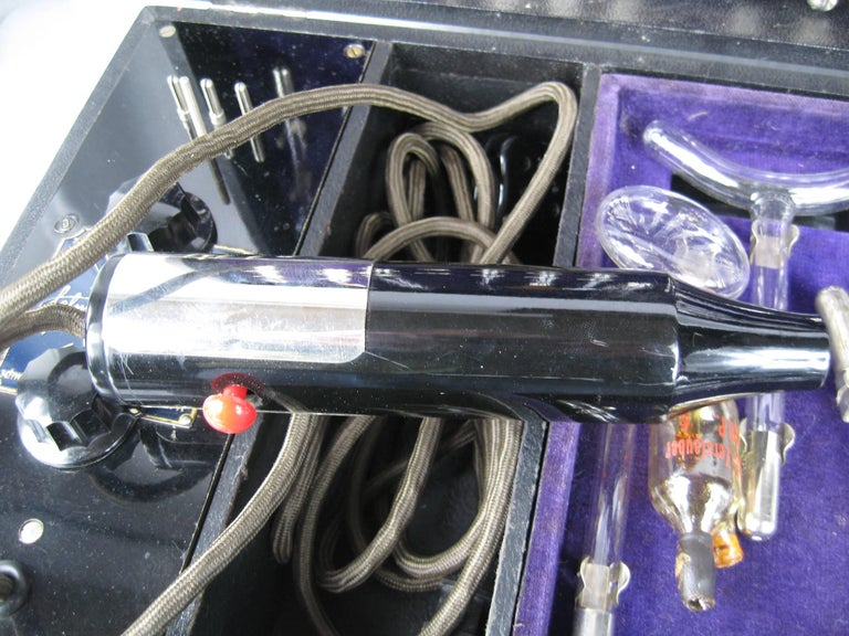 1930s Antique German  Felma Felmor Violet Wand Medical Machine 6
