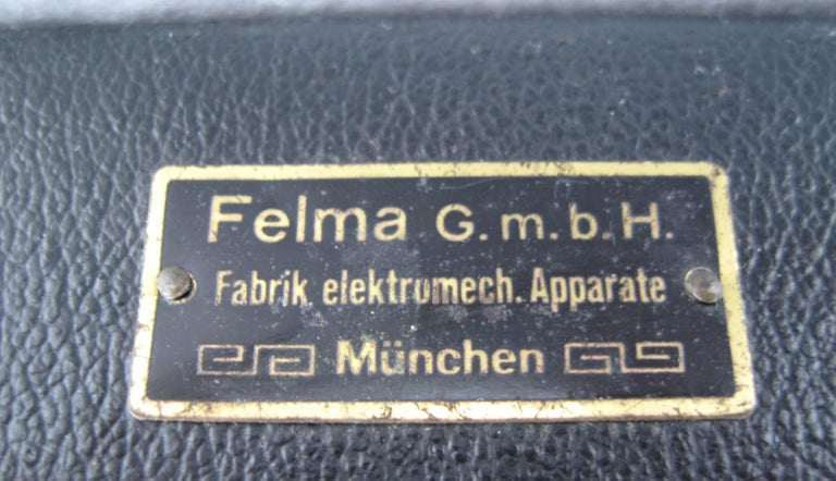 1930s Antique German  Felma Felmor Violet Wand Medical Machine 7