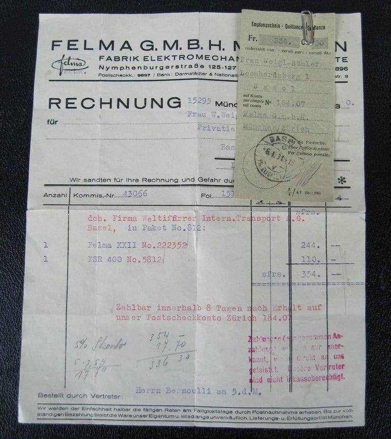 1930s Antique German  Felma Felmor Violet Wand Medical Machine 9