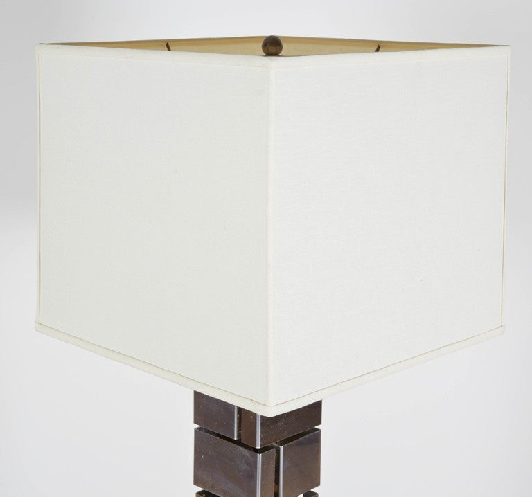 American 1970s, Floor Lamp by Curtis Jere For Sale