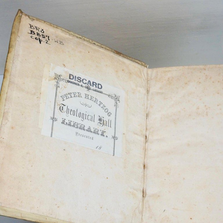 Italian 17th and 18th Century Vellum Books Collection of Three For Sale
