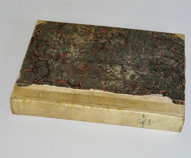 17th and 18th Century Vellum Books Collection of Three For Sale 1