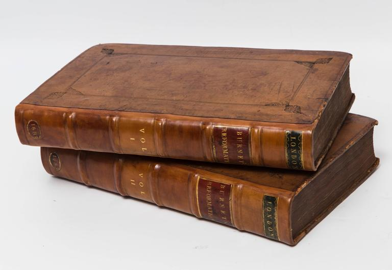 Beautiful leather bound set of books by Gilbert Burnet, D.D. on the history of the Reformation. Published in 1683. Would make a wonderful edition to any collection.