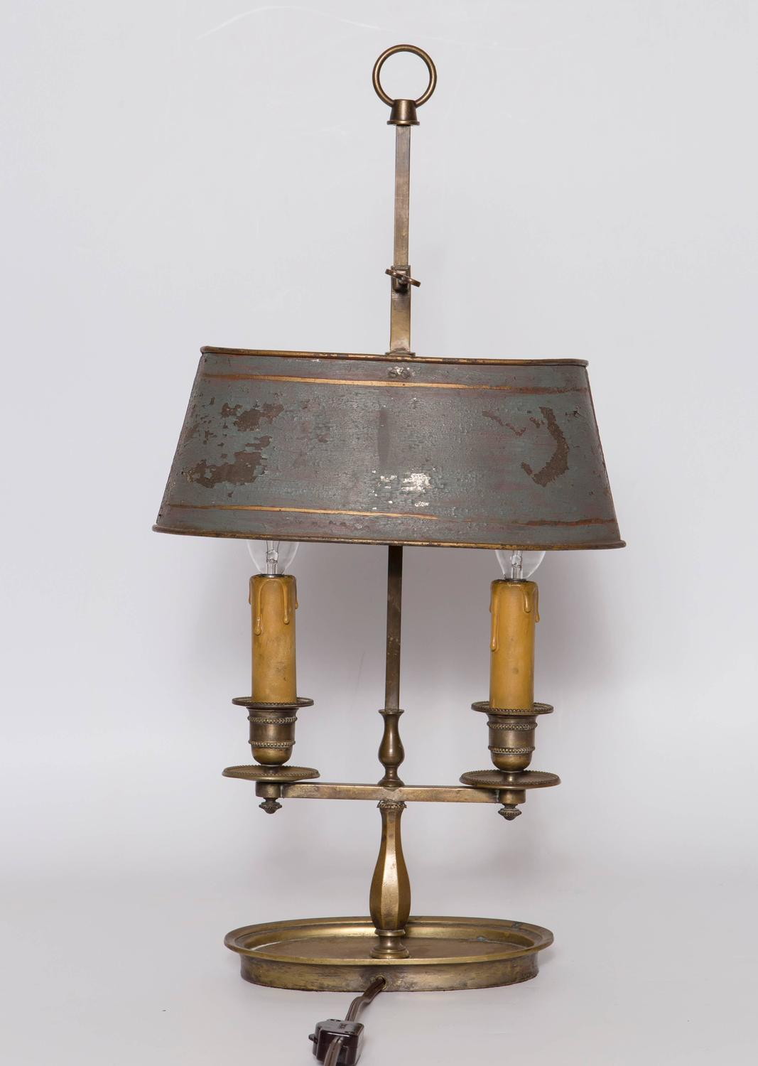 19th Century French Bouillotte Lamp For Sale At 1stdibs