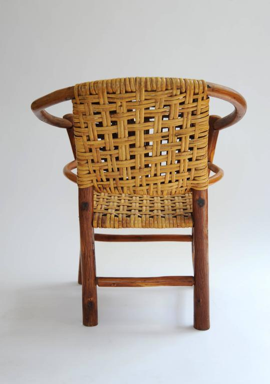 Adirondack style rattan chair for sale at 1stdibs - Adirondack style bedroom furniture ...