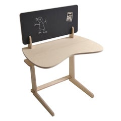 Biwo Adjustable Desk with Blackboard by Makémaké, Contemporary, France, 2017