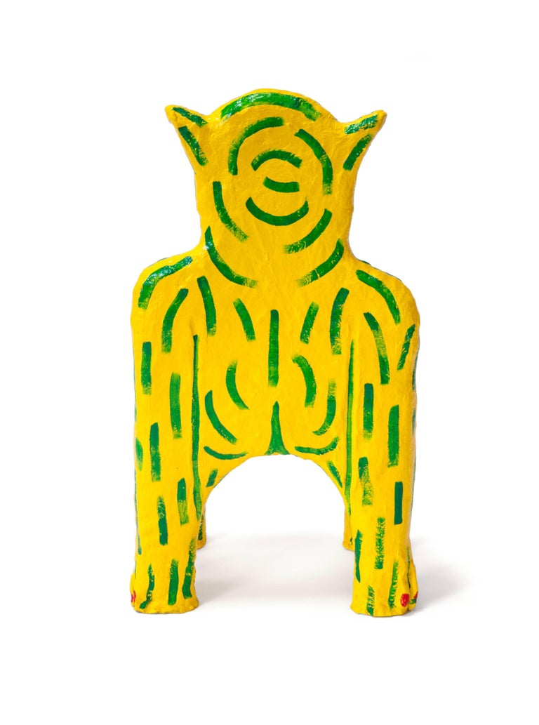 Yellow Creature Child Chair by Brett Douglas Hunter, USA, 2018 In Excellent Condition For Sale In New York, NY