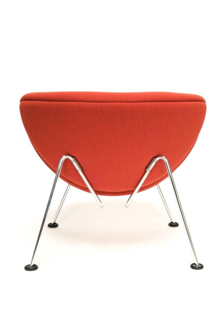 Dutch Orange Slice Jr Chair by Pierre Paulin in Kvadrat 'Divina Melange2', Netherlands For Sale
