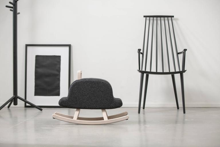 Iconic Bowler Hat Child Rocker by Maison Deux For Sale at 1stdibs e164b3d0a196