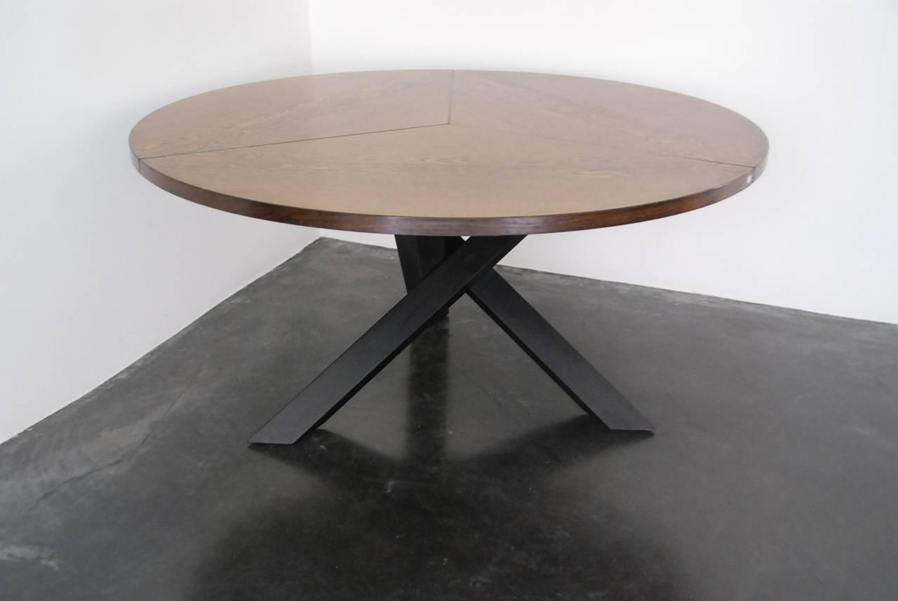 martin visser wenge dining table at 1stdibs. Black Bedroom Furniture Sets. Home Design Ideas